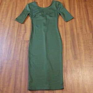 Dresses & Skirts - Sexy Olive Bodycon Dress